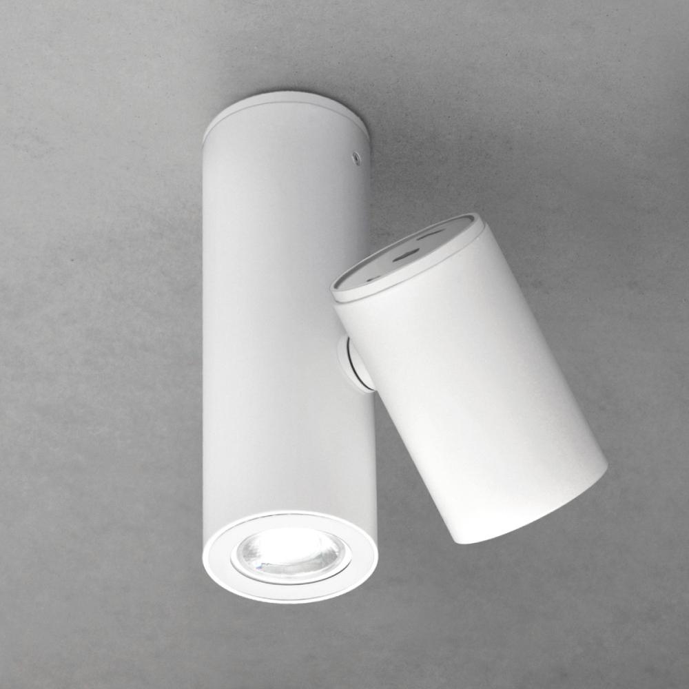 Kronn by Milan – 2 3/4″5 11/16″ x 8 1/8″ Surface, Downlight offers quality European interior lighting design   Zaneen Design