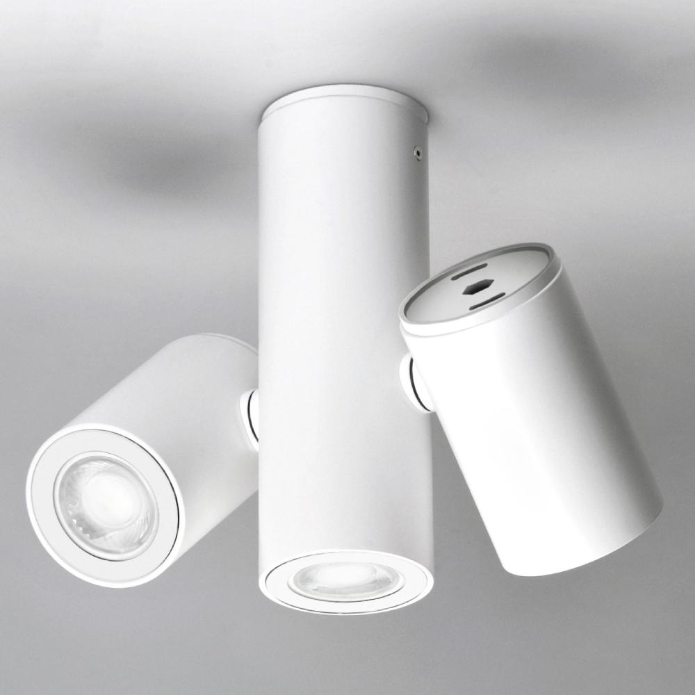 Kronn by Milan – 2 3/4″8 11/16″ x 8 1/8″ Surface, Downlight offers quality European interior lighting design   Zaneen Design
