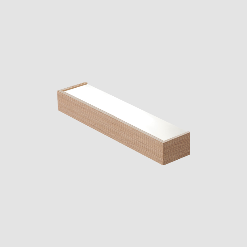 Kube by Ole – 19 11/16″ x 2 3/8″ Surface, Ambient offers quality European interior lighting design | Zaneen Design