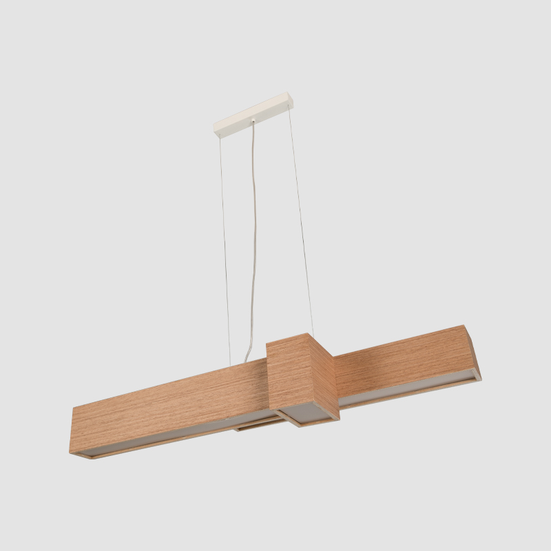 Kube by Ole – 39 3/8″ x 5 7/8″ Suspension, Ambient offers quality European interior lighting design | Zaneen Design