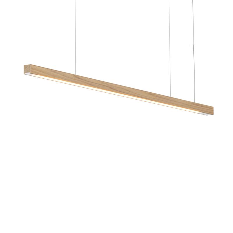 Woodlin by Tunto – 39 3/8″ x 1 1/8″ Suspension, Profile offers quality European interior lighting design | Zaneen Design