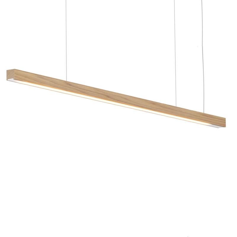 Woodlin by Tunto – 47 1/4″ x 1 1/8″ Suspension, Profile offers quality European interior lighting design | Zaneen Design