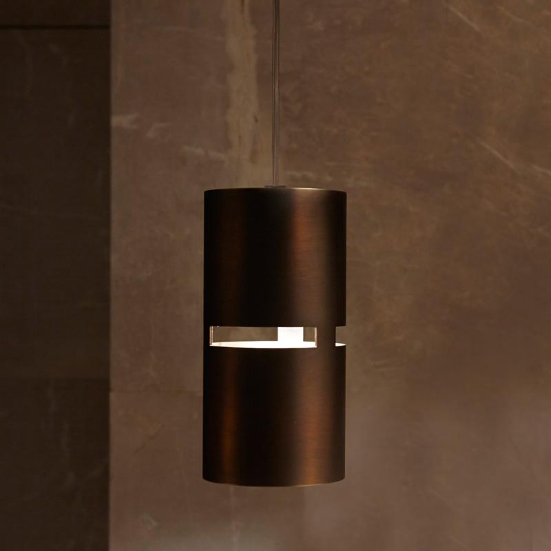 Luz Oculta by Fambuena – 3 15/16″ x 7 7/8″ Suspension, Pendant offers quality European interior lighting design | Zaneen Design