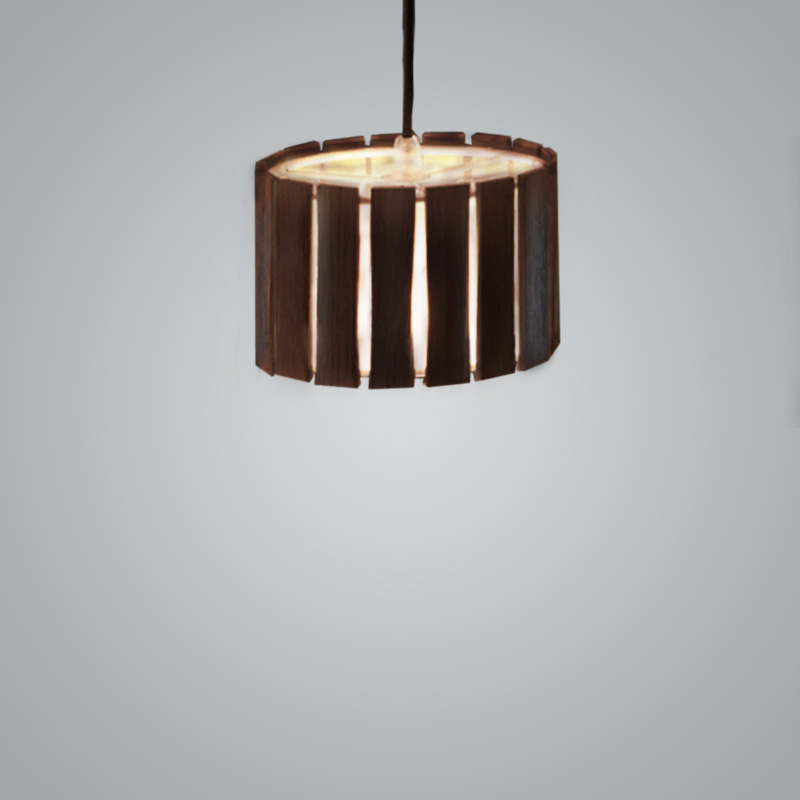 Luz Oculta by Fambuena – 5 1/2″ x 3  9/16″ Suspension, Pendant offers quality European interior lighting design | Zaneen Design