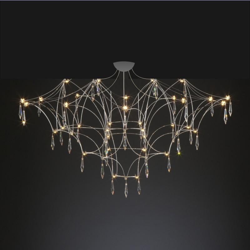 Mira by Quasar – 31 1/2″ x 21 5/8″ Surface, Ambient offers quality European interior lighting design | Zaneen Design