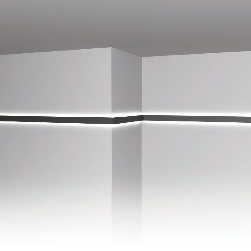 Never Ending by Prolicht – Custom length″ Surface, Profile offers LED lighting solutions | Zaneen Architectural