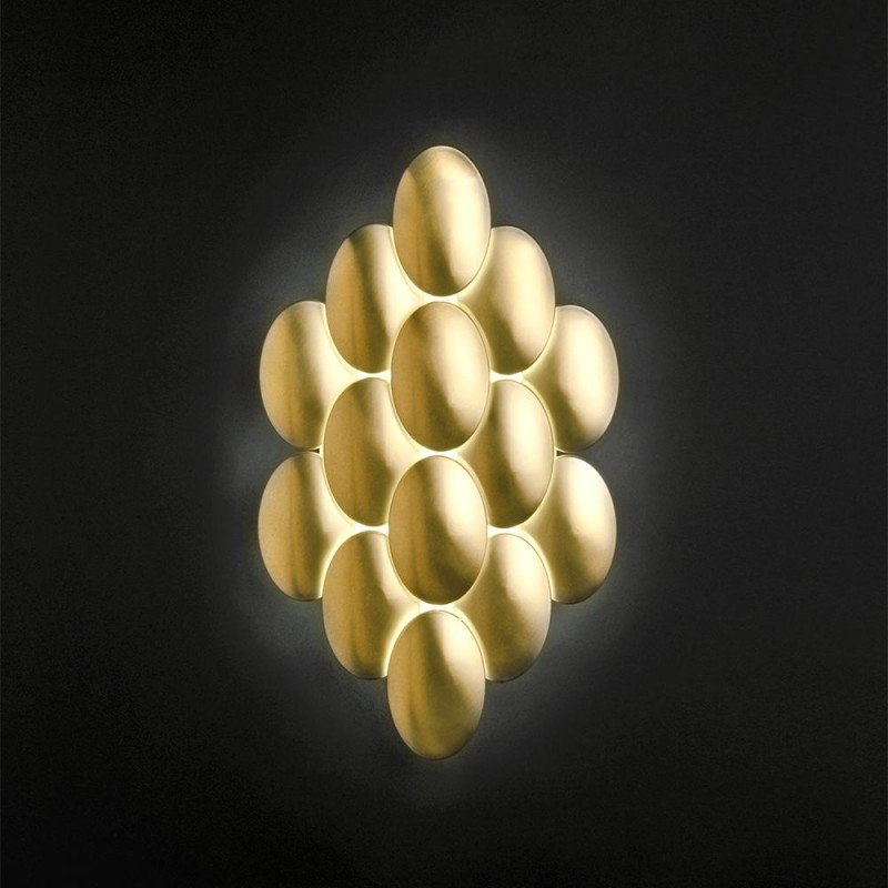 Obolo by Milan – 23 11/16″ x 3 3/8″ Surface, Wall Effect offers quality European interior lighting design | Zaneen Design