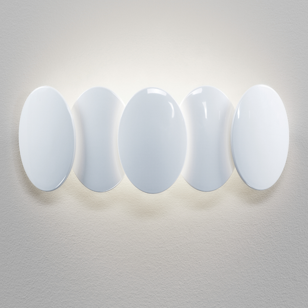 Obolo by Milan – 14 15/16″ x 3 11/16″ Surface, Wall Effect offers quality European interior lighting design | Zaneen Design