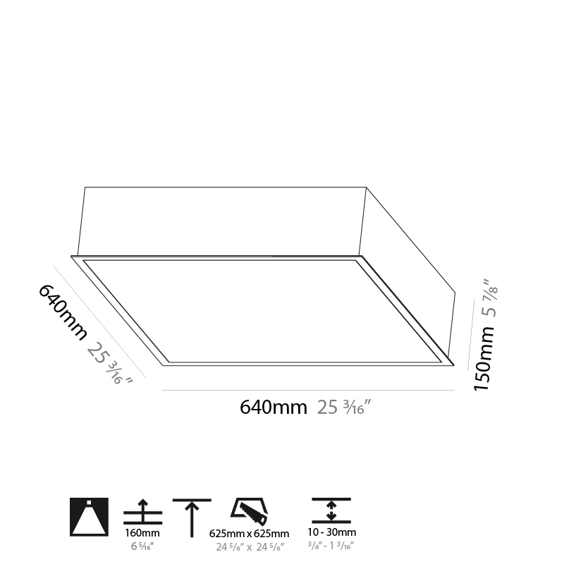 Pi2 by Prolicht – 25 3/16″ x 5 7/8″ Recessed, Ambient offers LED lighting solutions   Zaneen Architectural