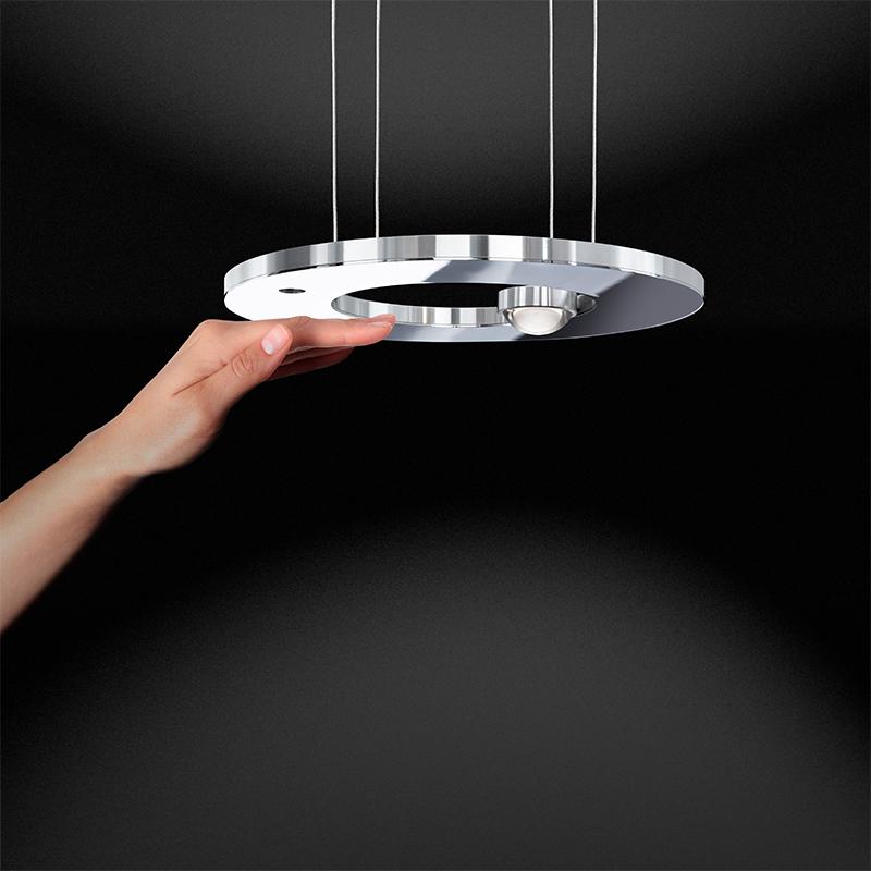 Passepartout by Cini & Nils – 9 7/8″ x 7/8″ Suspension, Pendant offers quality European interior lighting design | Zaneen Design