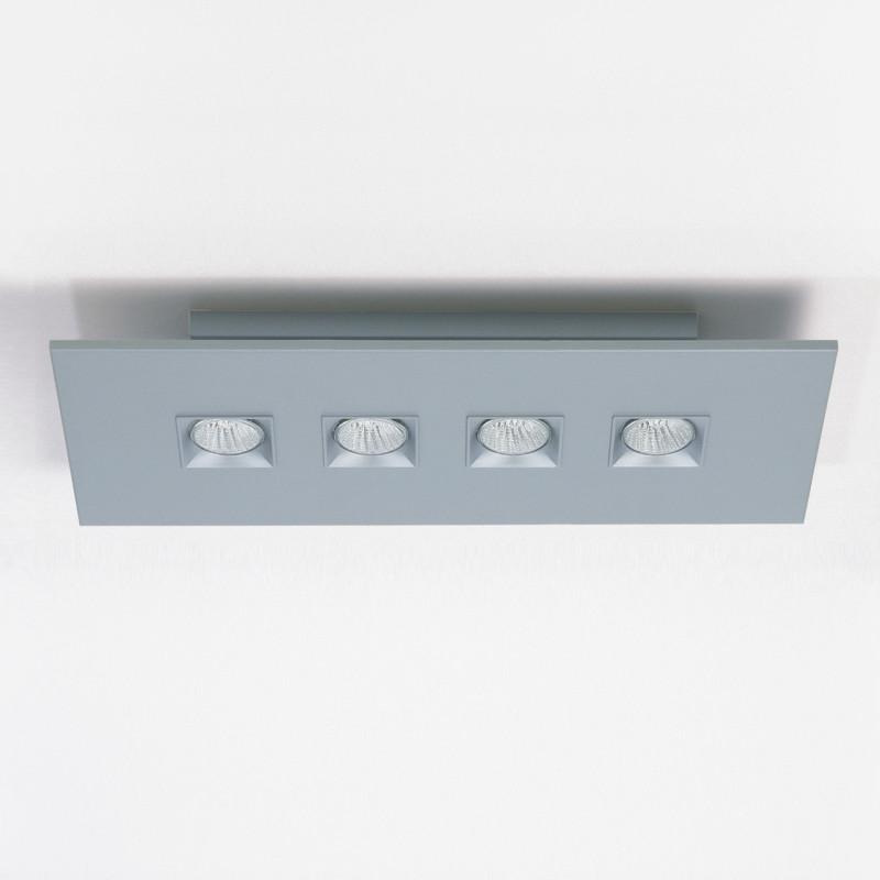 Polifemo by Milan – 24 13/16″ x 3″ Surface, Downlight offers quality European interior lighting design | Zaneen Design