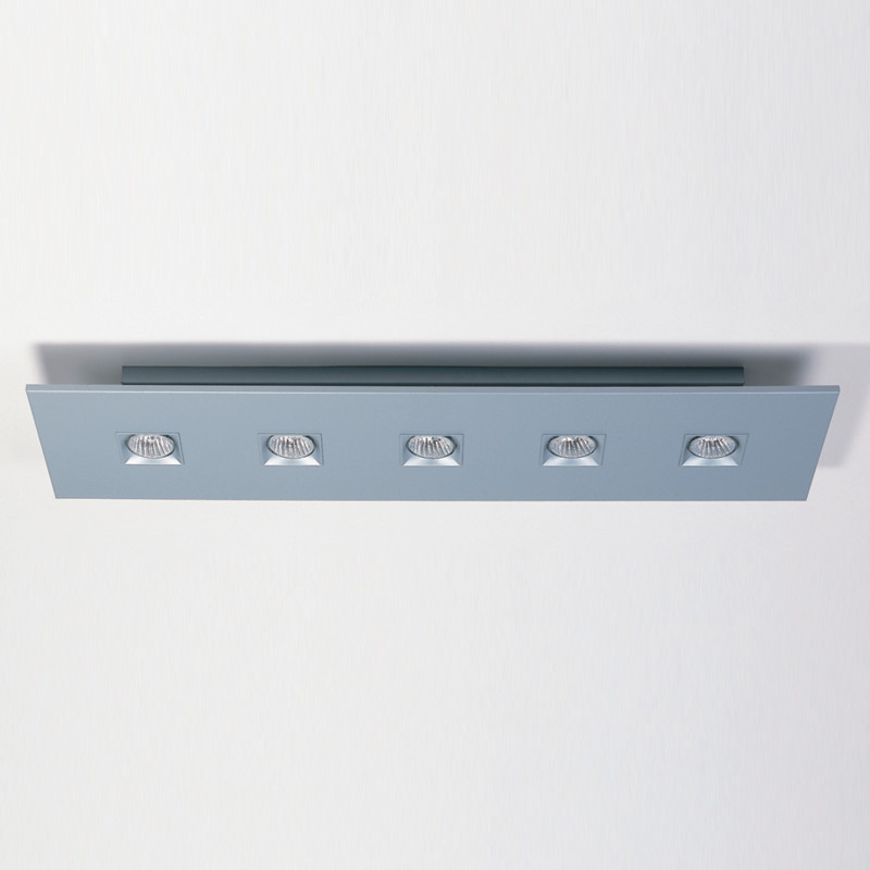 Polifemo by Milan – 39 3/8″ x 3″ Surface, Downlight offers quality European interior lighting design | Zaneen Design
