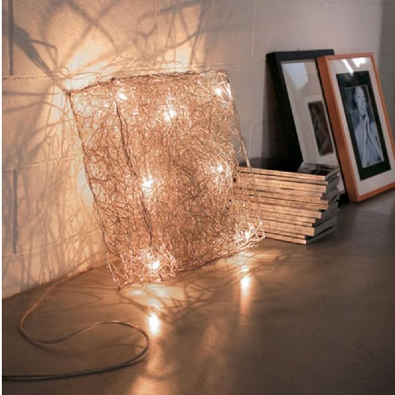 Quadro by Knikerboker – 18 7/8″ x 18 7/8″ Portable, Floor offers quality European interior lighting design | Zaneen Design