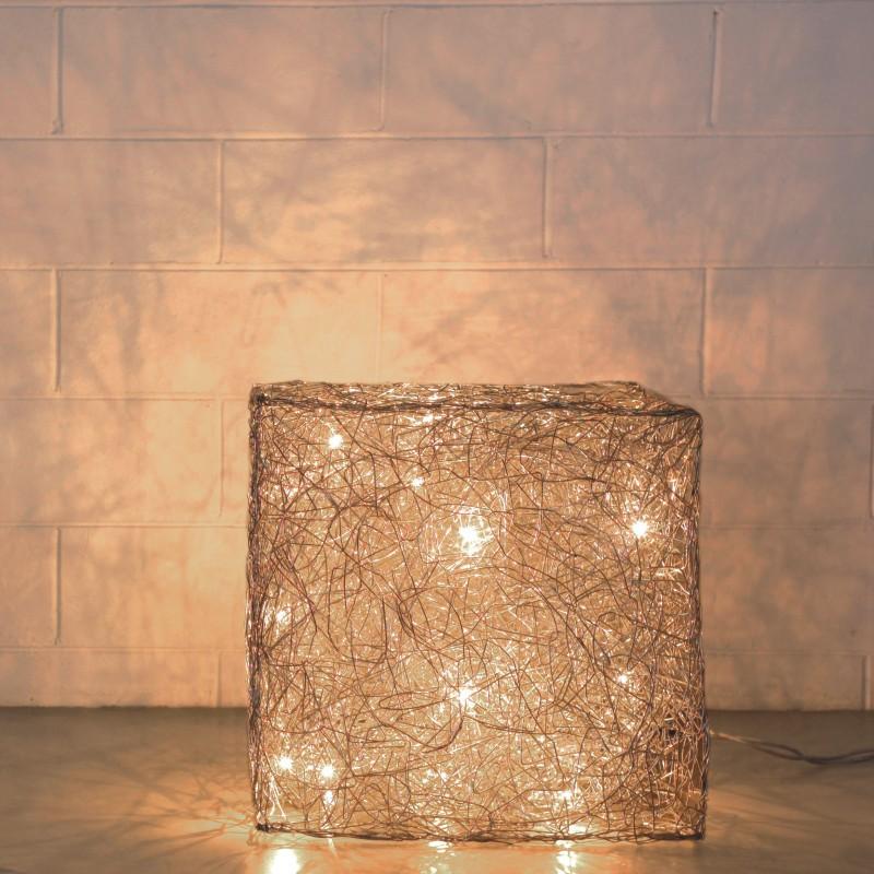 Quadro by Knikerboker – 21 5/8″ x 21 5/8″ Portable, Floor offers quality European interior lighting design | Zaneen Design