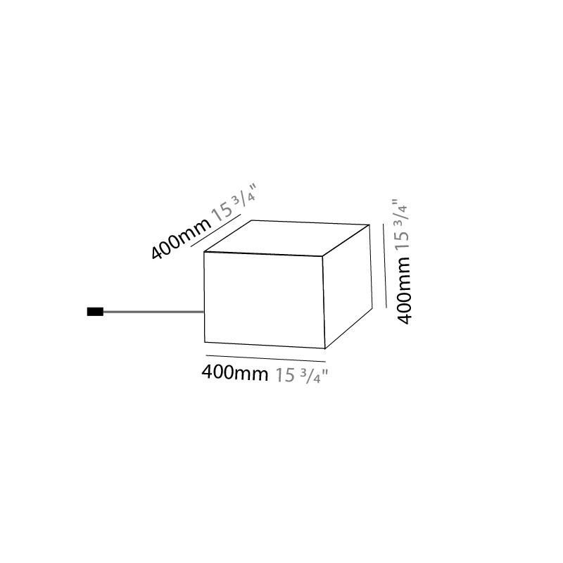 Quadro by Knikerboker – 15 3/4″ x 15 3/4″ Portable, Floor offers quality European interior lighting design   Zaneen Design