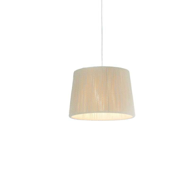Rafia by Fambuena – 11 13/16″ x 9  1/16″ Suspension, Pendant offers quality European interior lighting design | Zaneen Design