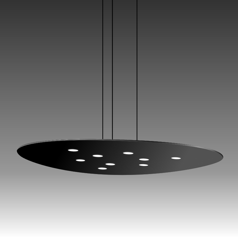 Scudo by Icone – 25  9/16″ Suspension, Pendant offers quality European interior lighting design | Zaneen Design