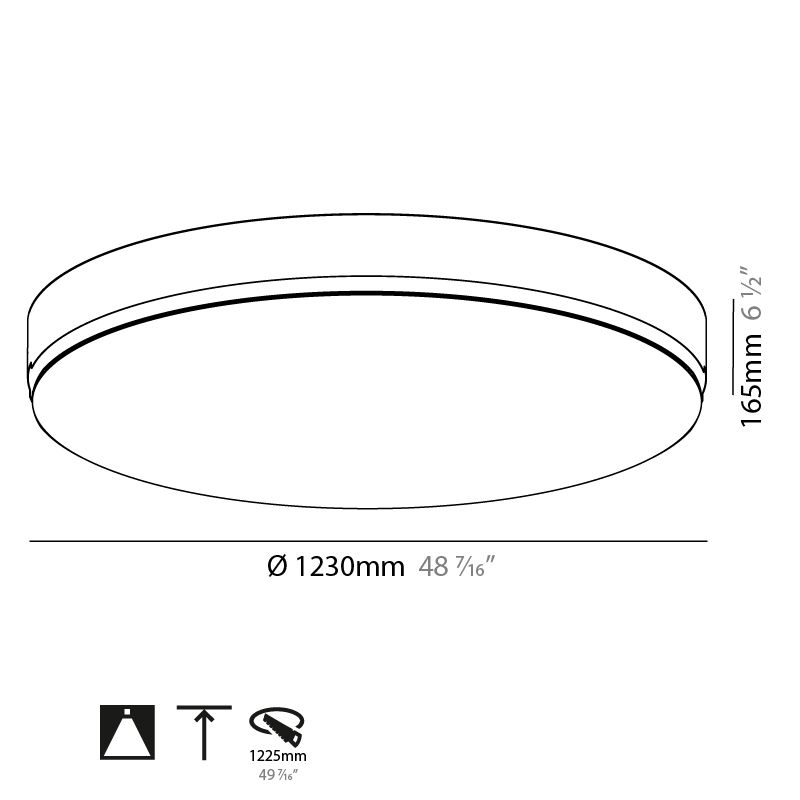 Sign by Prolicht – 48 7/16″ x 6 1/2″ Trimless, Ambient offers LED lighting solutions | Zaneen Architectural