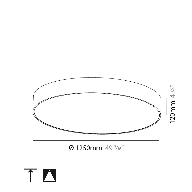 Sign by Prolicht – 49 3/16″ x 4 3/4″ Surface, Ambient offers LED lighting solutions   Zaneen Architectural