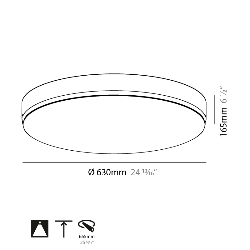 Sign by Prolicht – 24 13/16″ x 6 1/2″ Trimless, Ambient offers LED lighting solutions | Zaneen Architectural