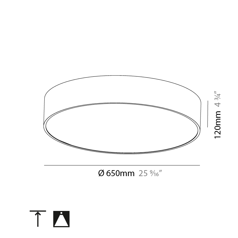Sign by Prolicht – 25 9/16″ x 4 3/4″ Surface, Ambient offers LED lighting solutions   Zaneen Architectural