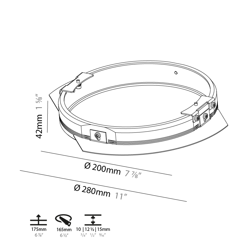 Sign by Prolicht – 7 7/8″ x 1 9/16″ Recessed,  offers LED lighting solutions | Zaneen Architectural