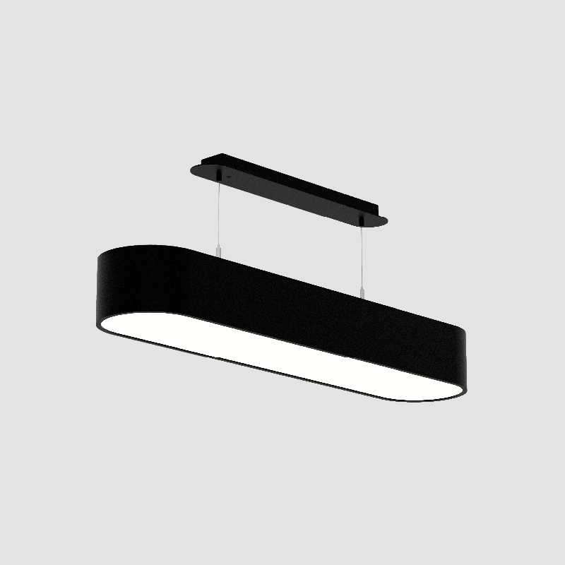 Smoothy by Prolicht – 36 5/8″ x 4 3/4″ Suspension, Ambient offers LED lighting solutions | Zaneen Architectural