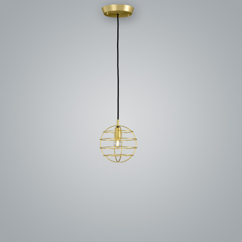 Sphere by Fambuena – 7 7/8″ x 7 7/8″ Suspension, Pendant offers quality European interior lighting design | Zaneen Design