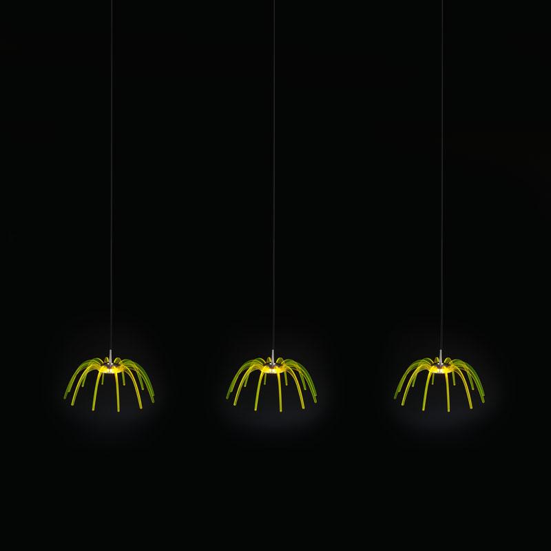 Spica by Quasar – 11 13/16″47 1/4″ x 5 7/8″ Suspension,  offers quality European interior lighting design | Zaneen Design
