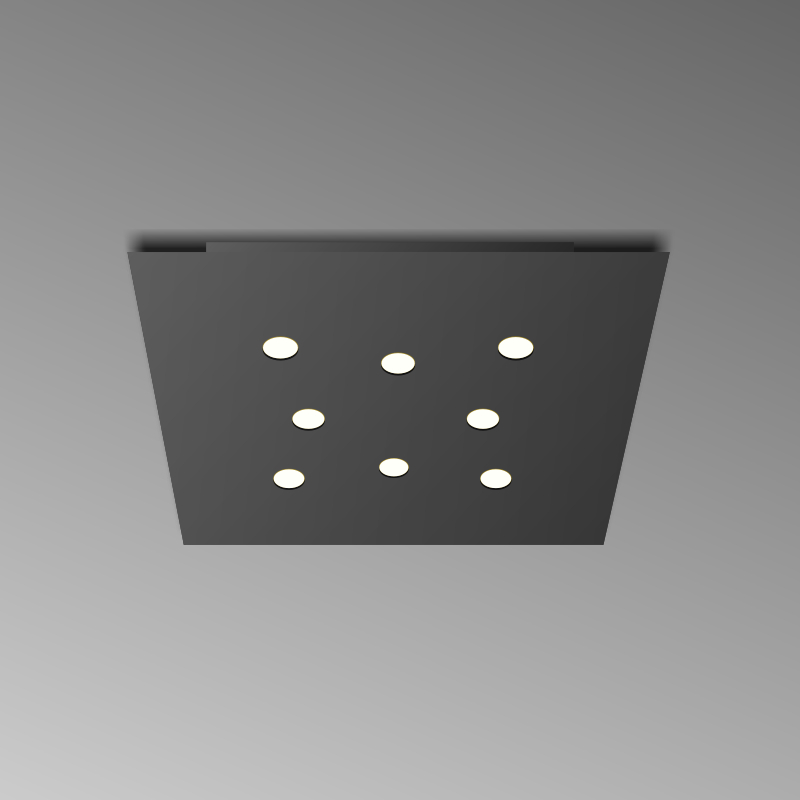 Shell by Icone – 17 11/16″ x 1 3/16″ Surface, Downlight offers quality European interior lighting design | Zaneen Design