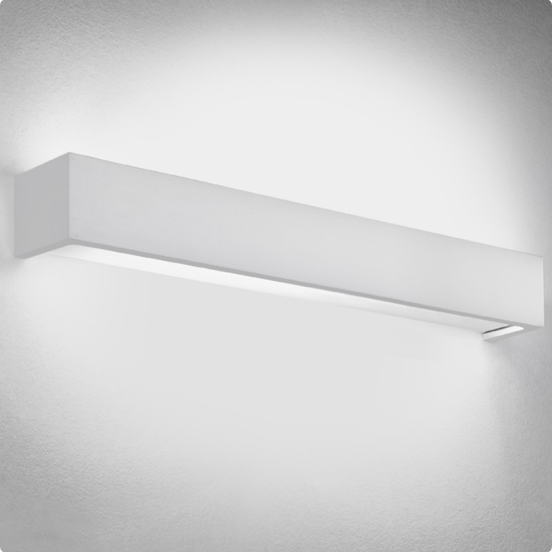 Toy by Panzeri – 24″ x 2 3/4″ Surface, Up/Down Light offers quality European interior lighting design | Zaneen Design