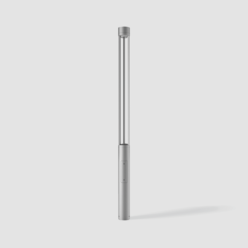 Tris by Platek – 6 5/16″ x 102 3/8″ Post, Bollard offers high performance and quality material | Zaneen Exterior