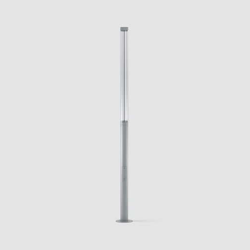 Tube by Platek – 6 5/16″ x 157 1/2″ Post, Bollard offers high performance and quality material | Zaneen Exterior