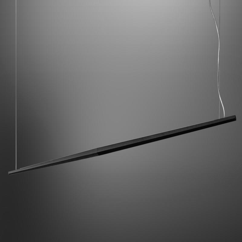Viisi by Panzeri – 82 11/16″ x 2 13/16″ Suspension, Pendant offers quality European interior lighting design | Zaneen Design