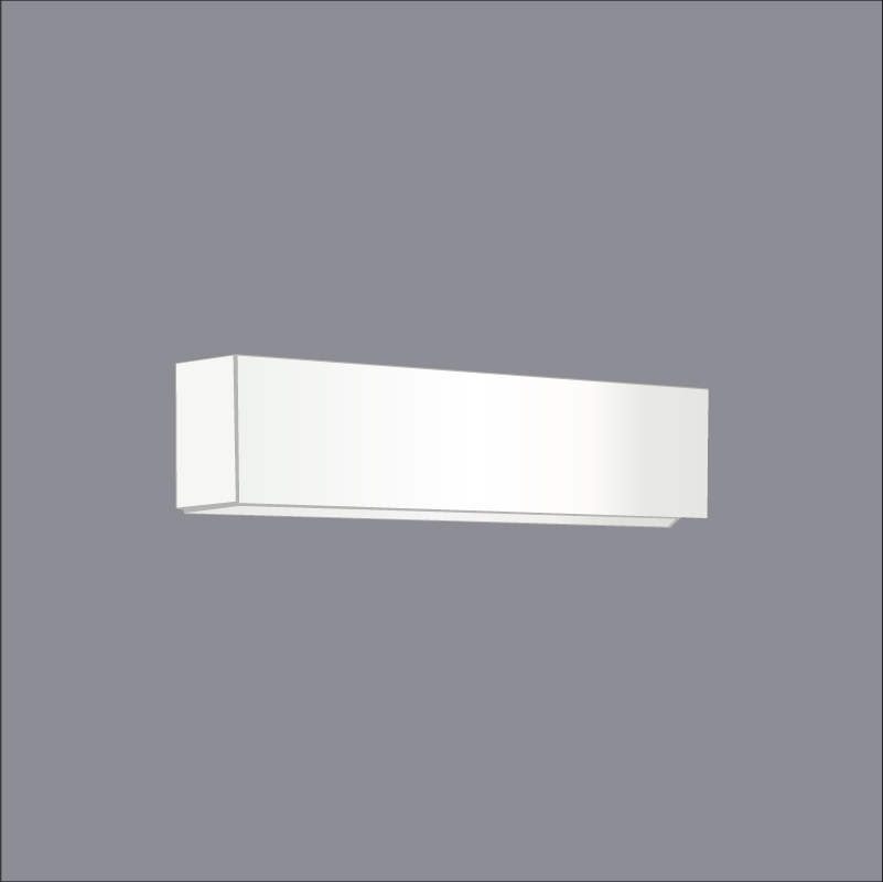 Wedge by Ole – 22 13/16″ x 3 1/8″ Surface, Ambient offers quality European interior lighting design | Zaneen Design