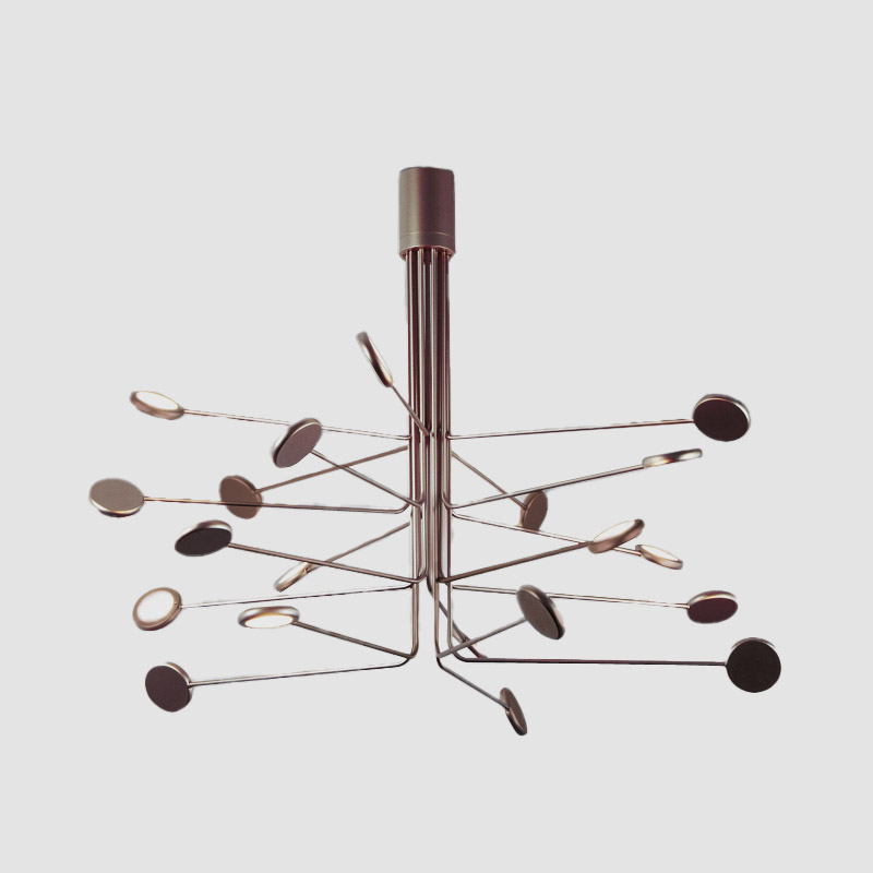 Arbor by Icone - Design LED ceiling, suspension and wall fixture with adjustable lights