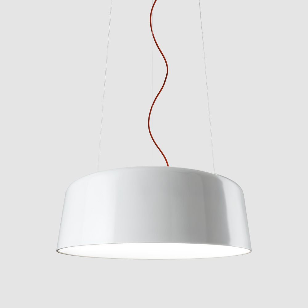 Blanca by Panzeri - LED suspension ceiling light designed by Federico Churba