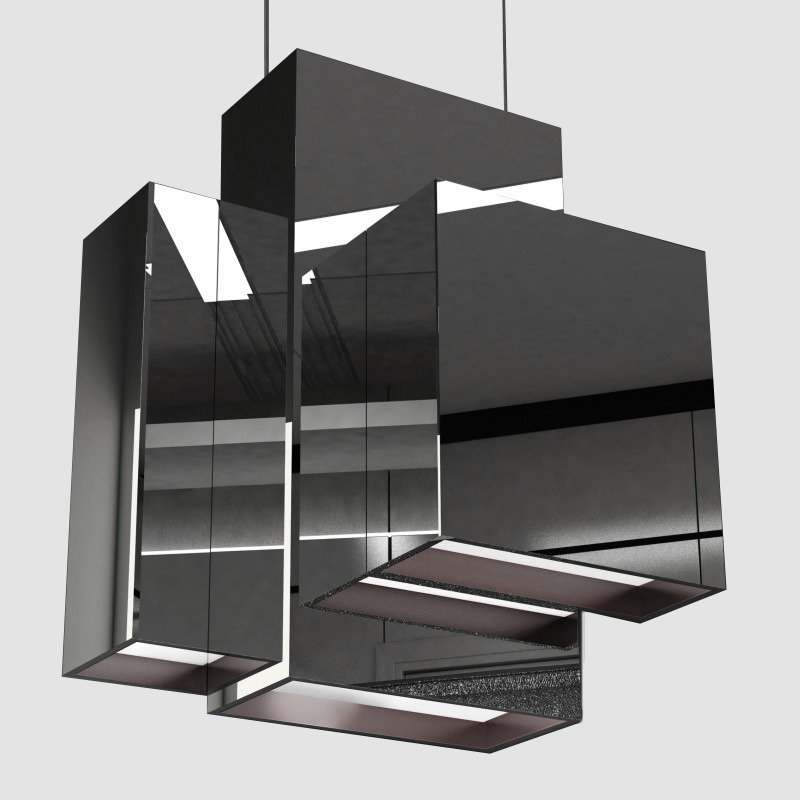 Blox by Quasar - Design suspension ceiling pendant lighting 34.8W LED