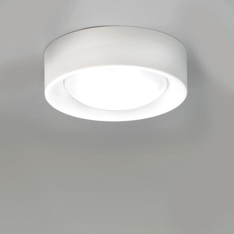 Cilinder by Milan - Surface ceiling flush mount lighting LED 11W 845lm 3000K