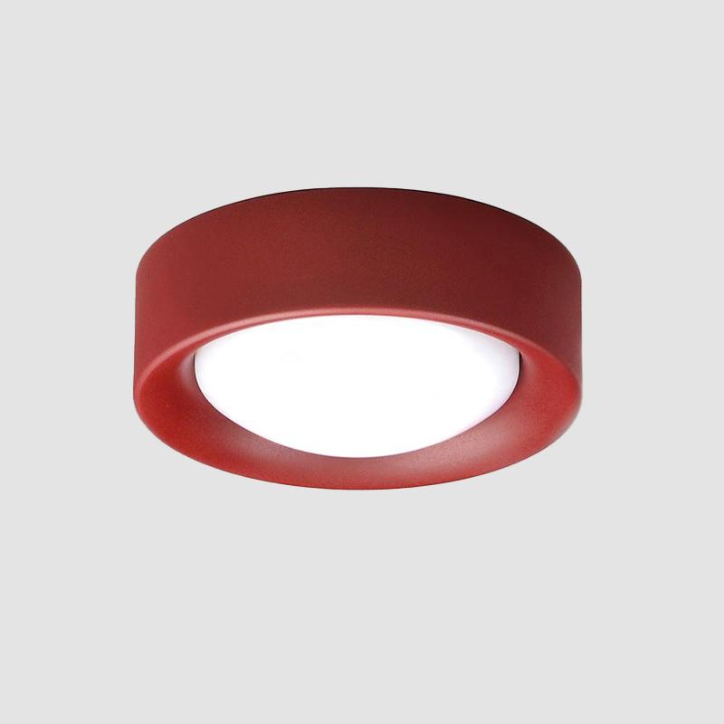 Cilinder by Milan - Surface ceiling flush mount lighting LED 11W 845lm 3000K