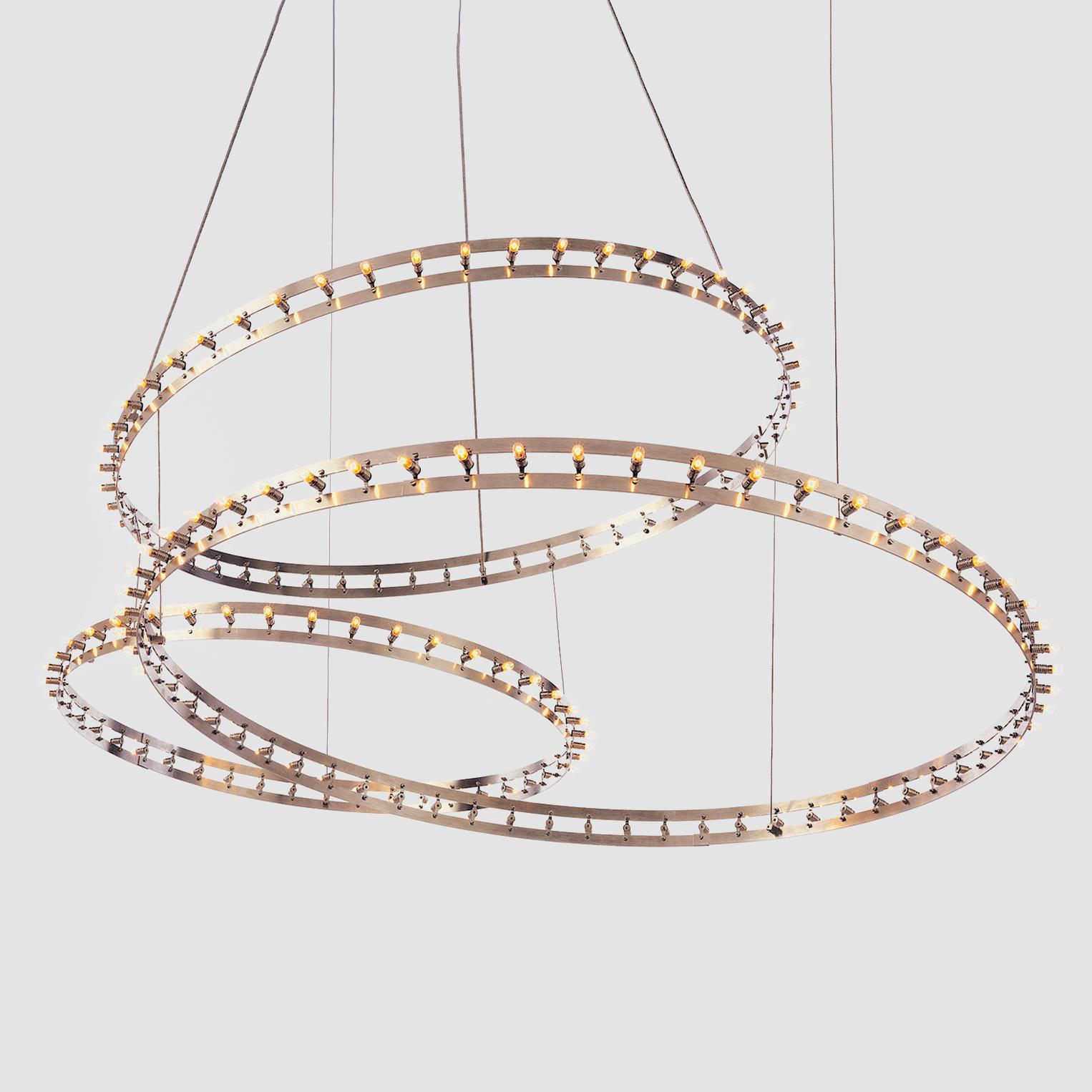 Citadel by Quasar - Design and contemporary ring shape suspension light