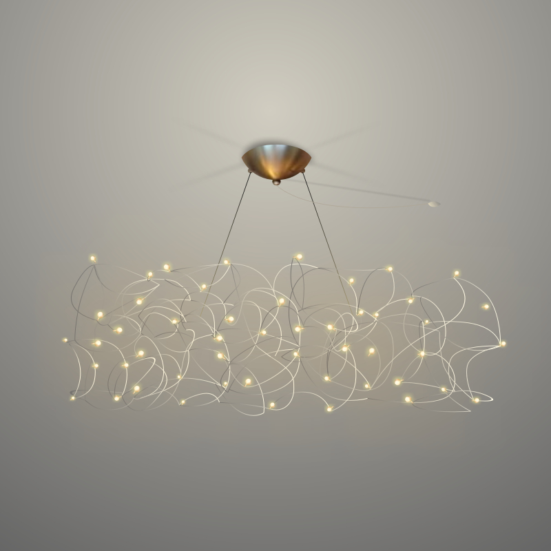 Curled by Quasar - pendant lighting