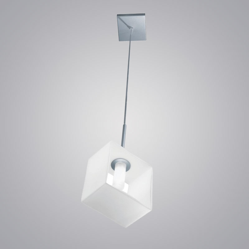 Domino by Panzeri - Modern square suspension lights