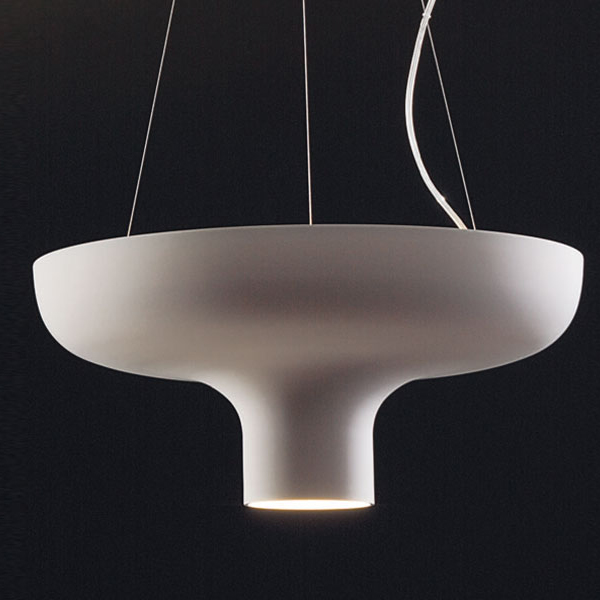 Duetto by Icone - Direct/indirect LED cylinder suspension lights