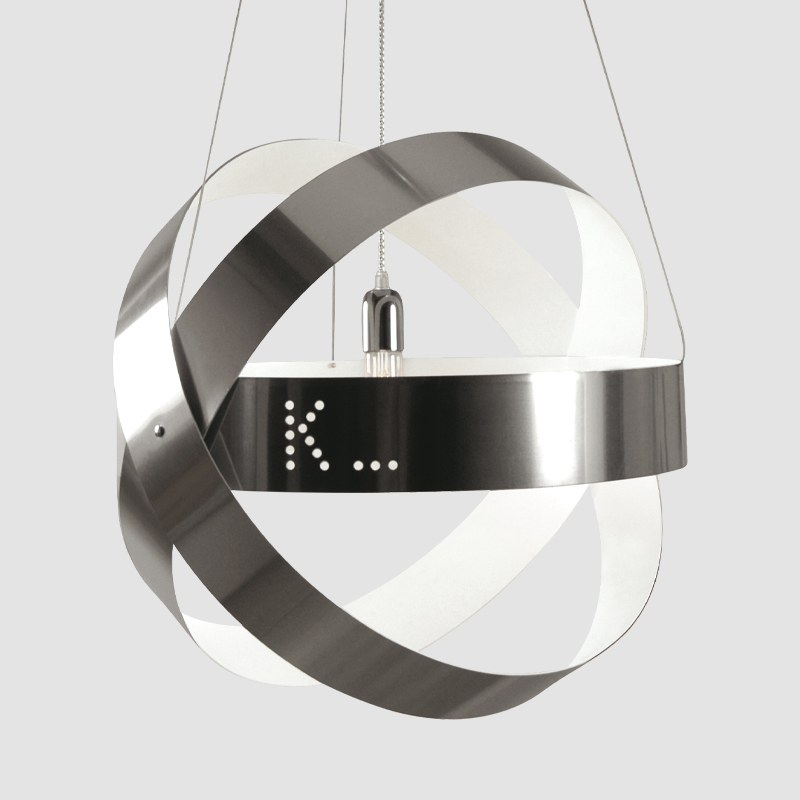 Ecliptika by Knikerboker - Design LED pendant lighting crafted with polished aluminum