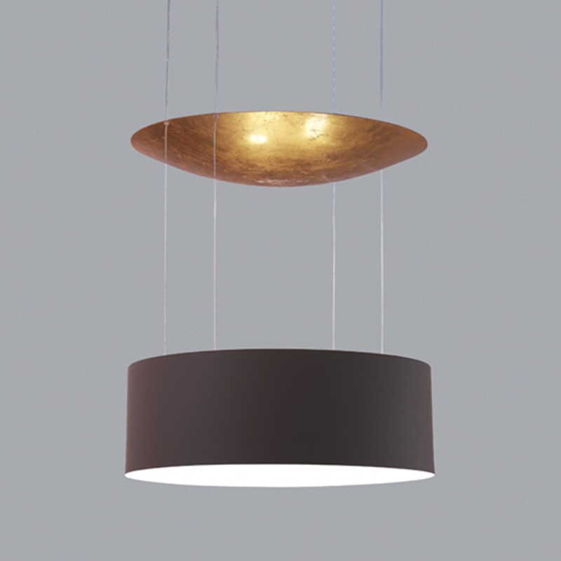 Eclisse by Icone - Ceiling light fixture featuring both direct and indirect lighting