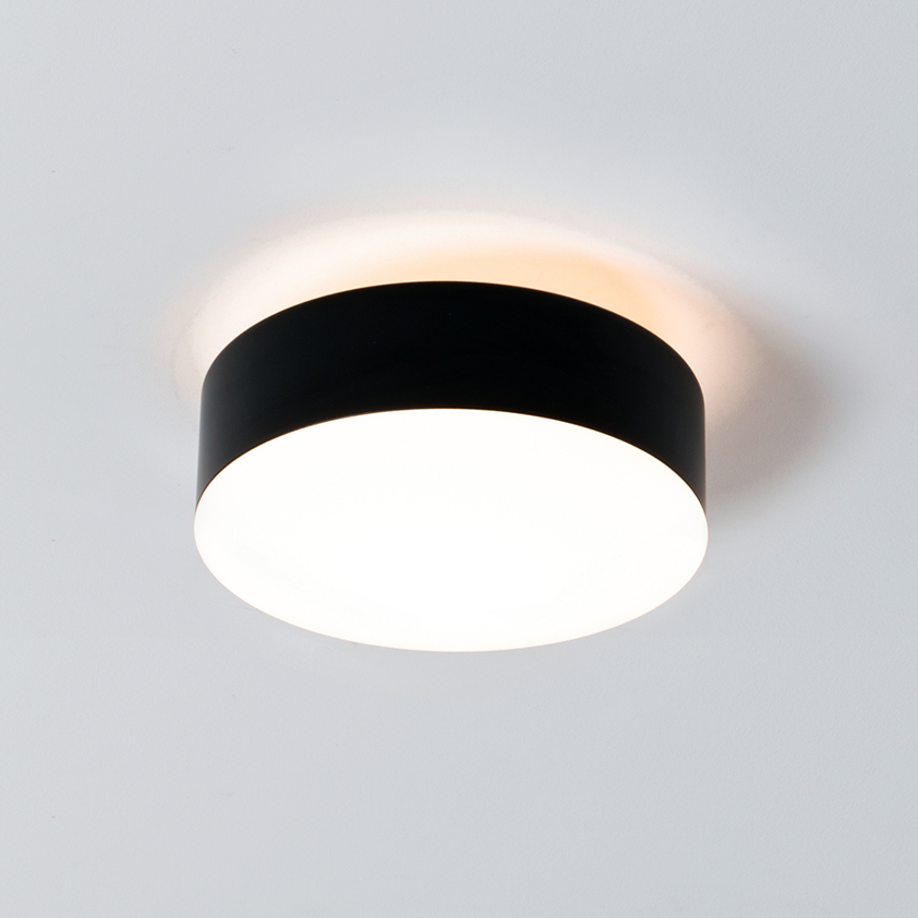 Emboss by Milan - LED-retrofit ceiling light with direct and indirect distribution
