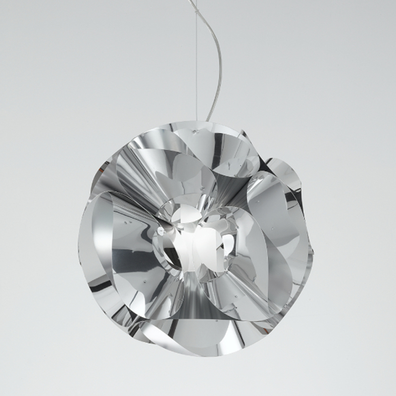 Floral by Panzeri - Hanging lamp made of polished aluminum