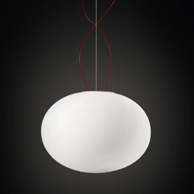 Gilbert by Panzeri - Globular hand-blown glass suspension lights