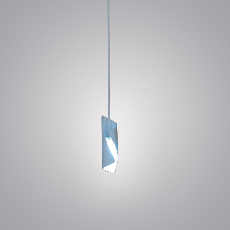 Hue by Knikerboker - Design ceiling suspension made from curved steel